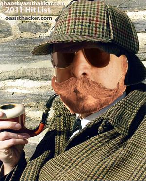 Oasis as Shrlock holmes